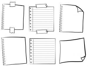 Writing drafts