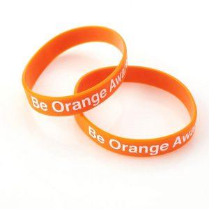 OrangeAware wristbands