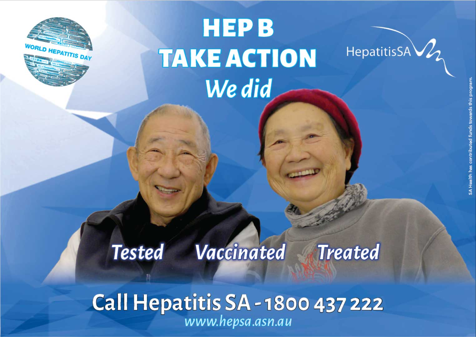 Hep B Take Action poster